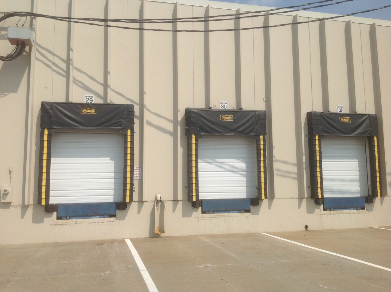 Commercial Overhead Doors And Dock Pads