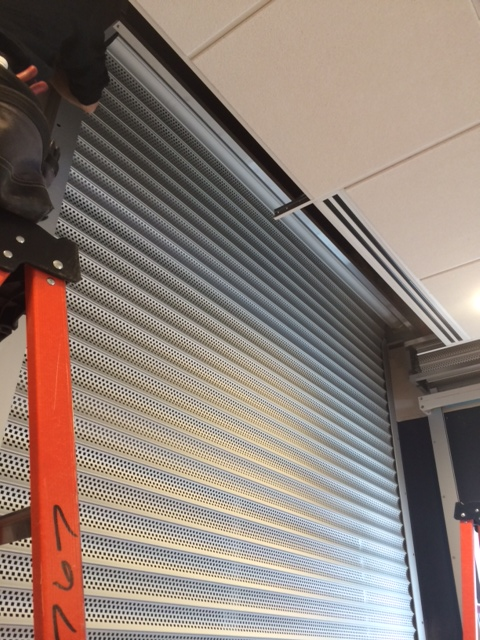 Commercial Roll Up Security Door Installation Superior