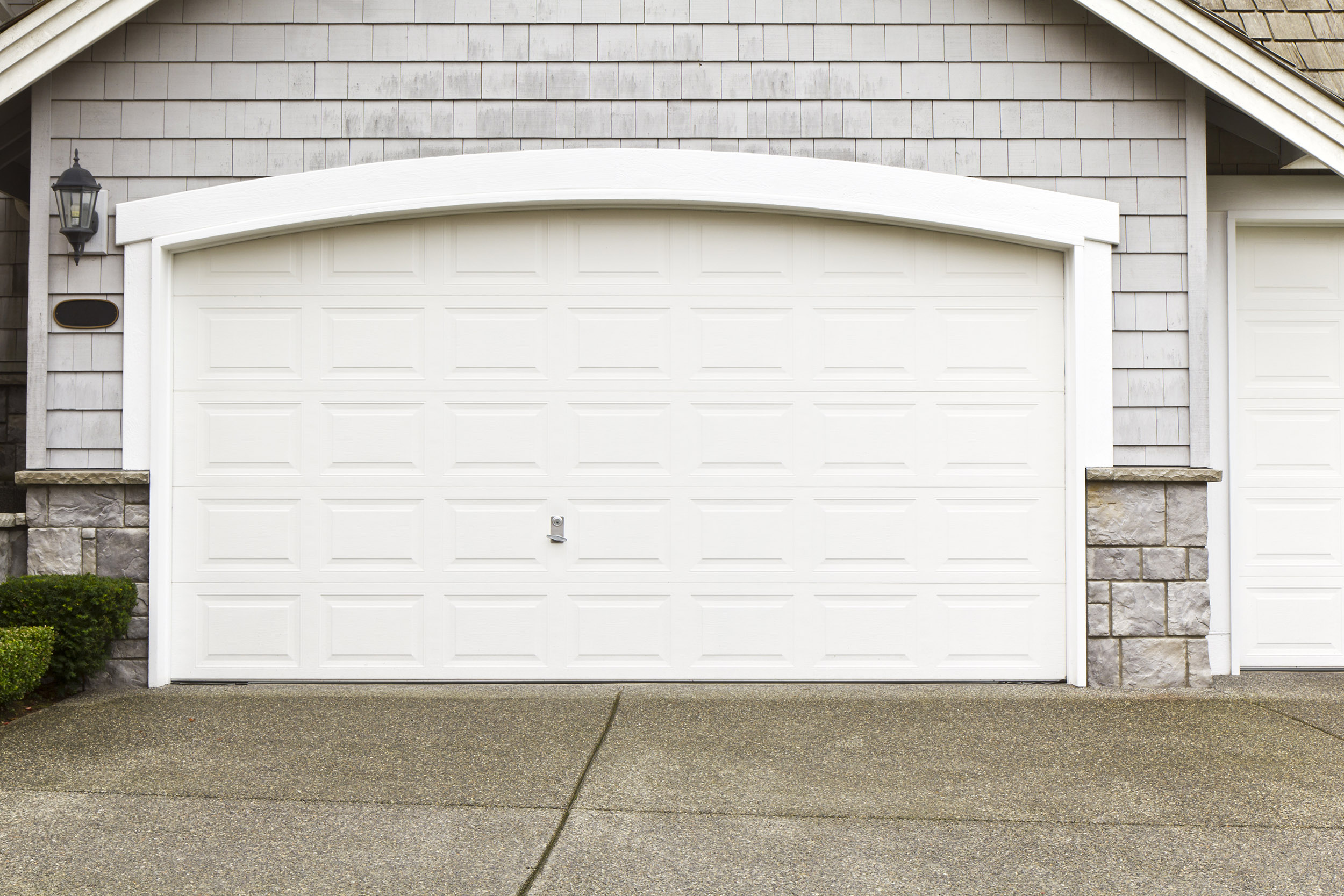 Wonderful White Garage Door Texture For Best Photo Painted